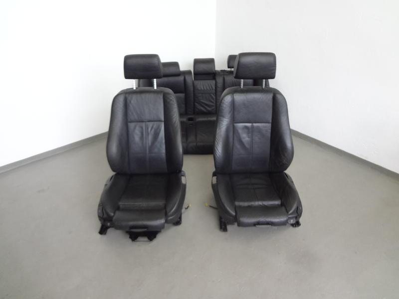 bmw e39 touring sport sitze innenausstattung leder schwarz. Black Bedroom Furniture Sets. Home Design Ideas