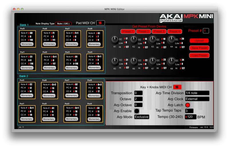 ableton forum u2022 view topic akai mpk mini controller use the easy way rh forum ableton com akai mpk mini editor manual Akai MPK Mini Support