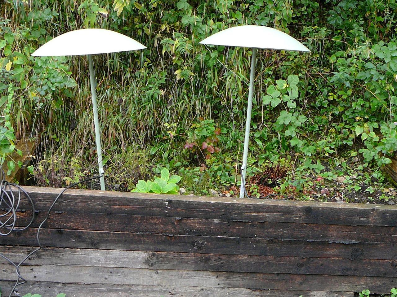 50er 60er jahre garten lampe panton eames ebay for Eames lampe