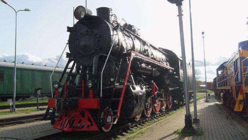 Eisenbahnbilder aus Lettland / Riga (gemischte Spurweiten) 16365181sz