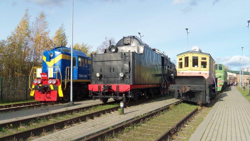 Eisenbahnbilder aus Lettland / Riga (gemischte Spurweiten) 16365188wj
