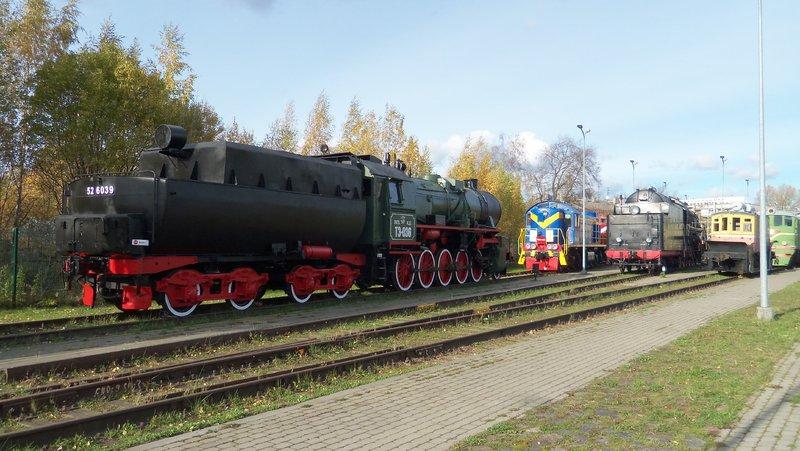 Eisenbahnbilder aus Lettland / Riga (gemischte Spurweiten) 16365198dw
