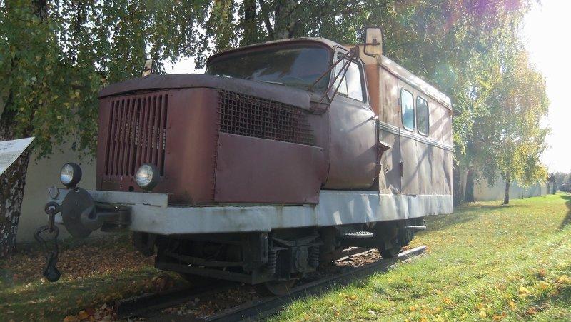 Eisenbahnbilder aus Lettland / Riga (gemischte Spurweiten) 16365231am
