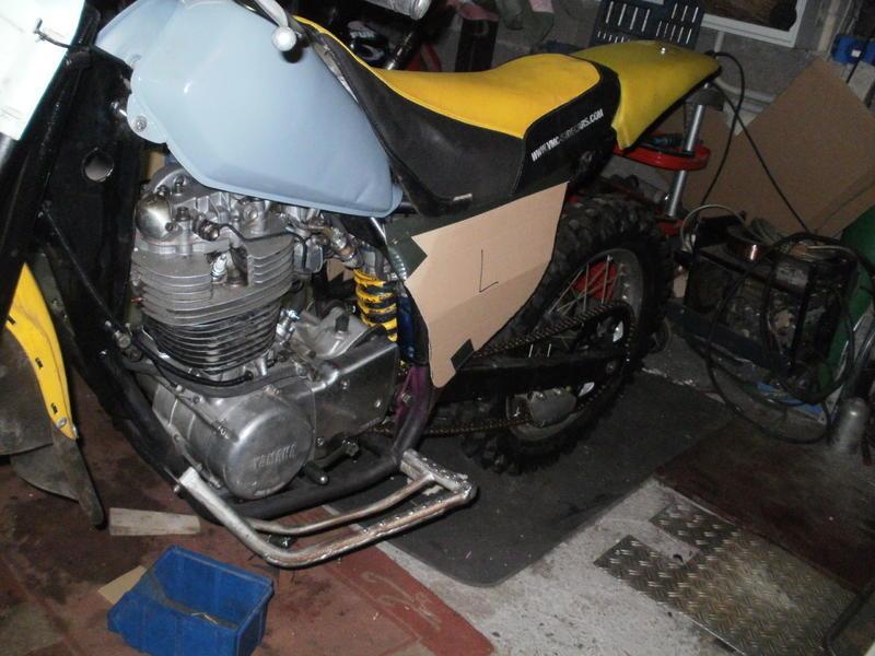 Enduro Gespann VMC mit Yamaha XT 500 Motor 16426714rc