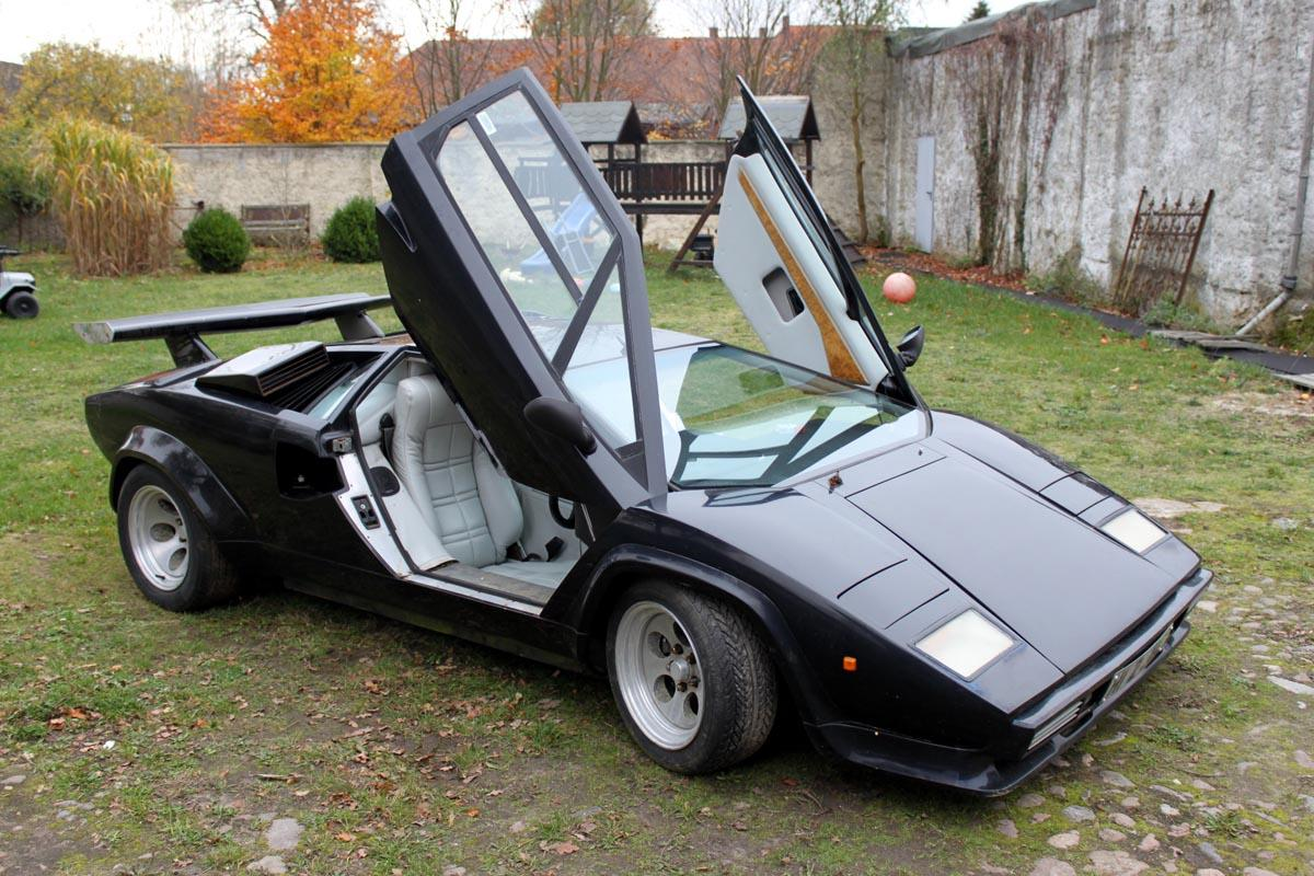 lamborghini countach replica sienna ebay. Black Bedroom Furniture Sets. Home Design Ideas