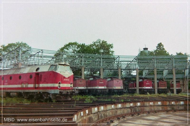 Historische Zeitdokumente 187 Das Bahnbetriebswerk Chemnitz Hbf