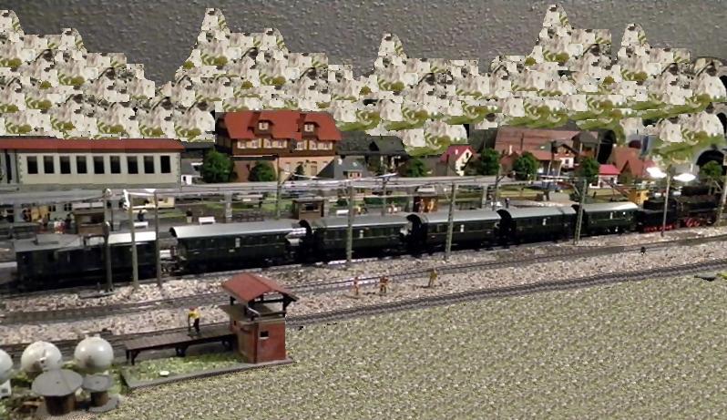 Märklin 329/1 bzw 4002 Personenwagen 2achsig grün 16511461gr