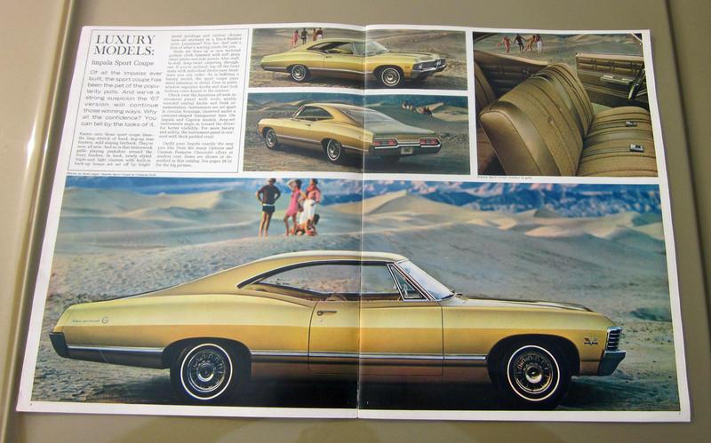 chevrolet impala coupe 1967 8000mls original. Black Bedroom Furniture Sets. Home Design Ideas