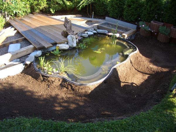anlagetipps für miniteiche und becken - seite 1 - gartenteich, Garten und Bauen