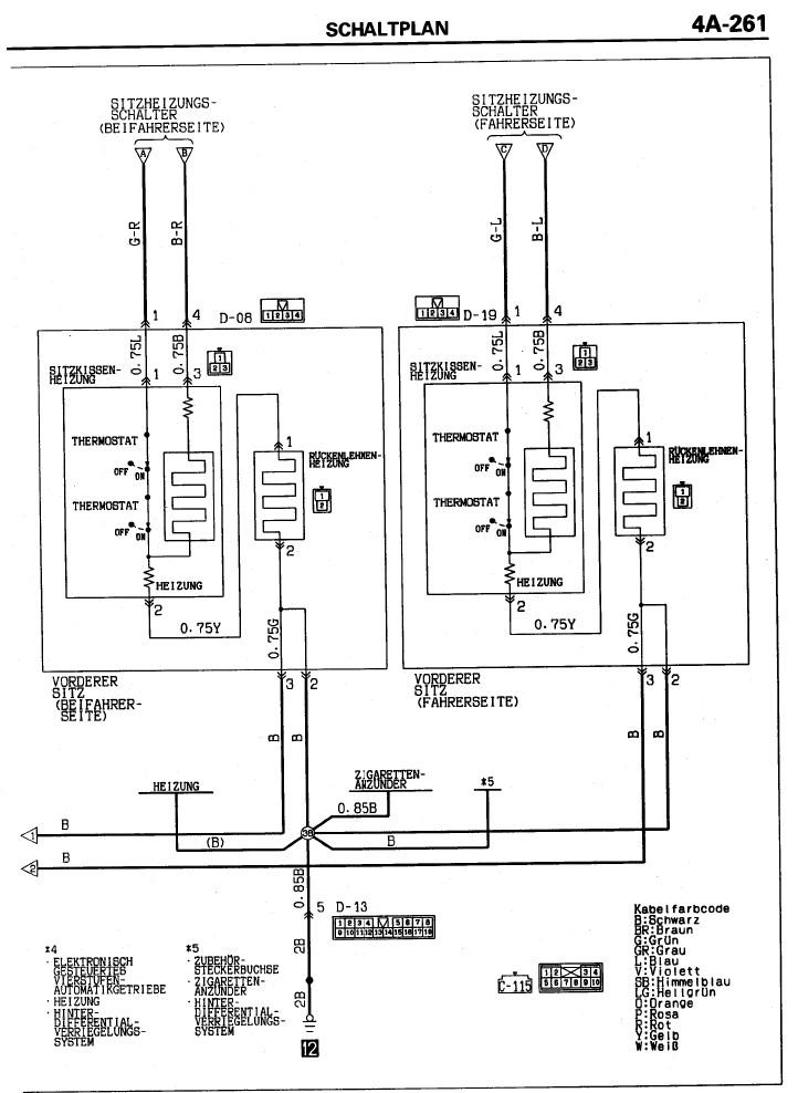 Wunderbar Mitsubishi Pajero Schaltplan Ideen - Der Schaltplan ...