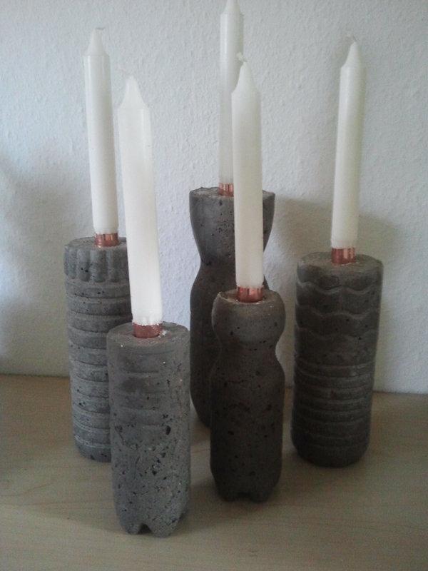 anleitung kerzenleuchter aus beton minerva 39 s gartenforum. Black Bedroom Furniture Sets. Home Design Ideas