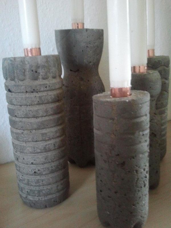 Beton Gießen Anleitung anleitung kerzenleuchter aus beton minerva s gartenforum