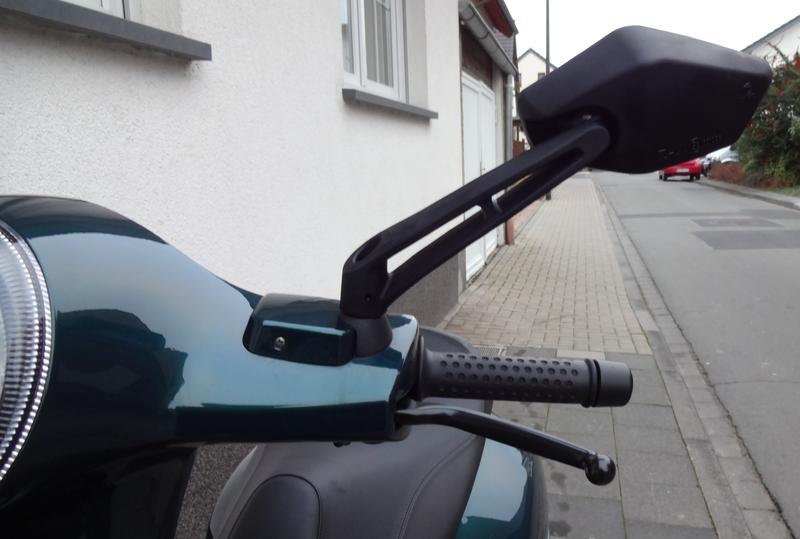 Vespa Sprint Spiegels : Mofa shop vespa chrom klemmspiegel spiegel bumm pl