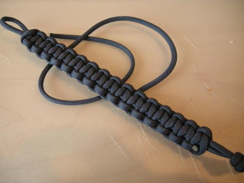 Paracord armband ohne verschluss