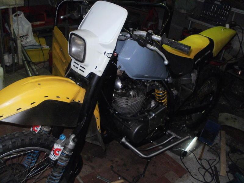 Enduro Gespann VMC mit Yamaha XT 500 Motor 16908852ex
