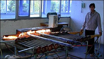 solar röhrenkollektoren testen auf vakuum