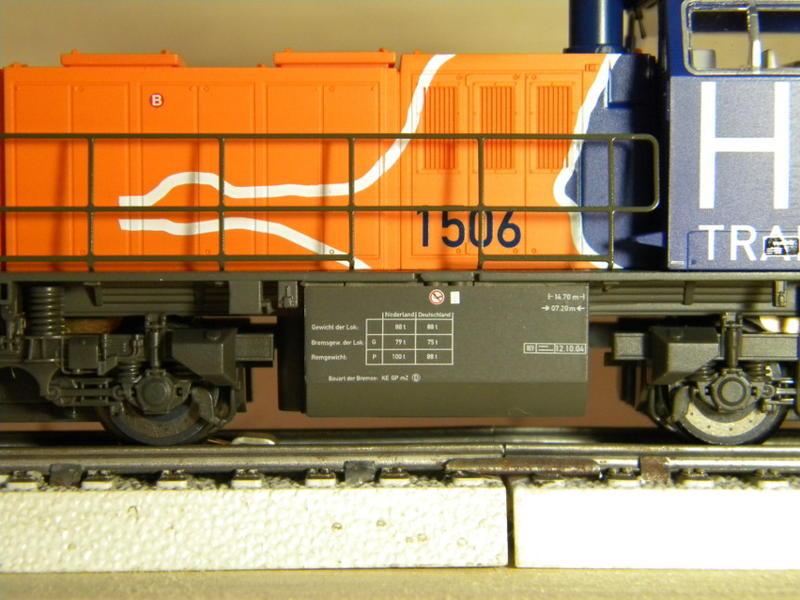 PIKO Diesellok G 1206, HUSA 17028825bg
