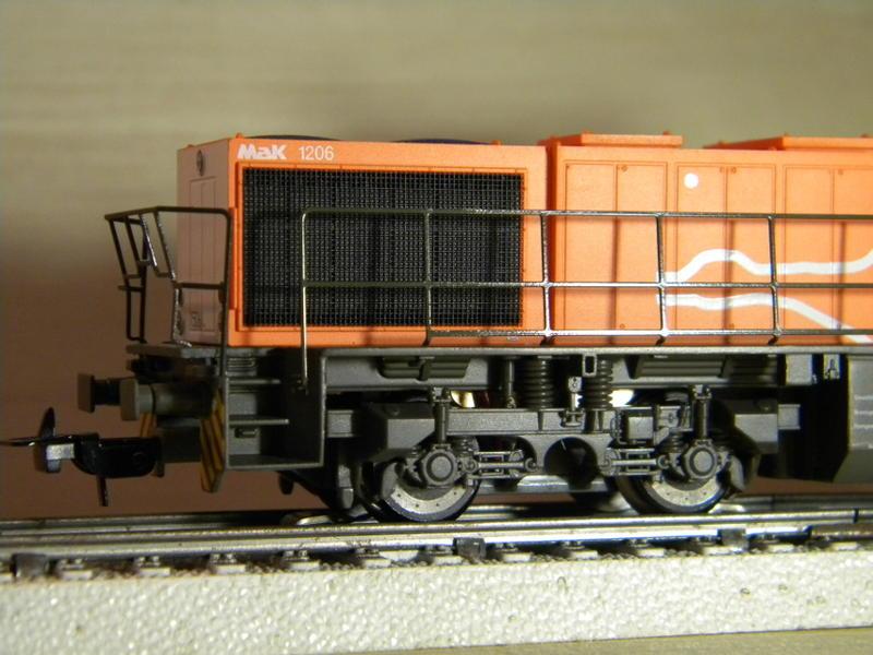 PIKO Diesellok G 1206, HUSA 17028829uv