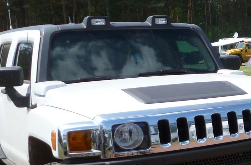 H3 Original Lightbar Rooflights Hummer Forums