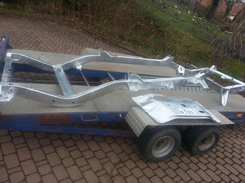 Groß Jeepwrangler Rahmen Reparatur Zeitgenössisch ...