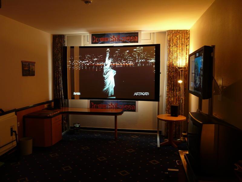 Couchscreen leinwand mein erster seh eindruck 1 1 heimkino forum heimkino forum - Couchscreen leinwand ...