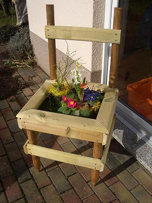 Bepflanzbarer Stuhl Mein Schoner Garten Forum