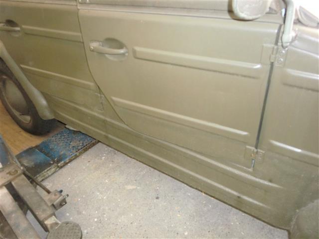 1974er k belwagen 181 feldj ger in au ergew hnlich gutem. Black Bedroom Furniture Sets. Home Design Ideas