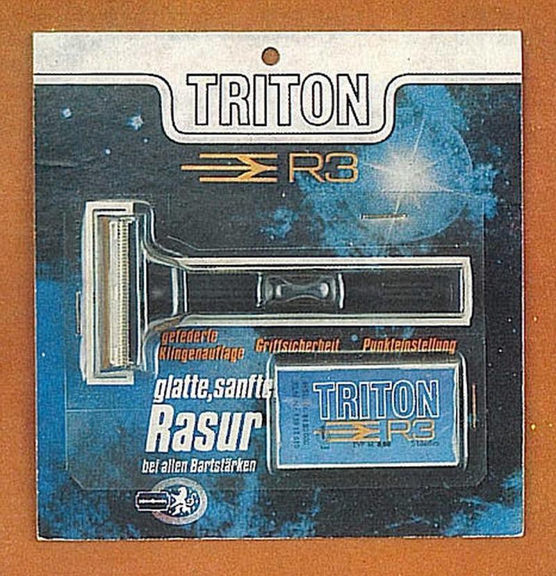 Lames Triton R3 1749086