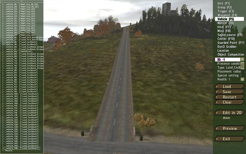 DayZ Mapeditor Road BUGS - Server Install - Epoch Mod Community