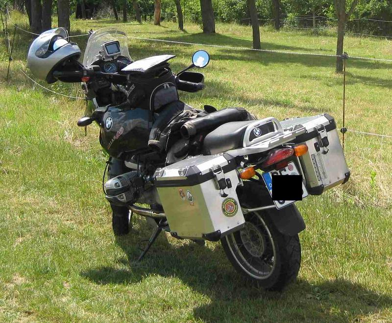 original bmw r1200gs adventure alu koffer an die r1150gs. Black Bedroom Furniture Sets. Home Design Ideas