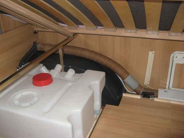 Wohnwagen Dusche Au?en : Beheizter Abwassertank – Wintercamping – Wohnwagen-Forum.de