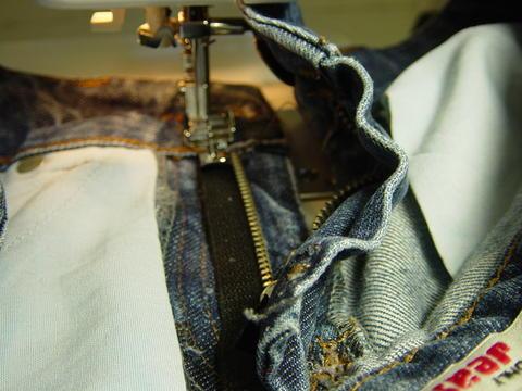 wip alte jeans austauschen eines rei verschlu es ganz unkompliziert hobbyschneiderin 24. Black Bedroom Furniture Sets. Home Design Ideas