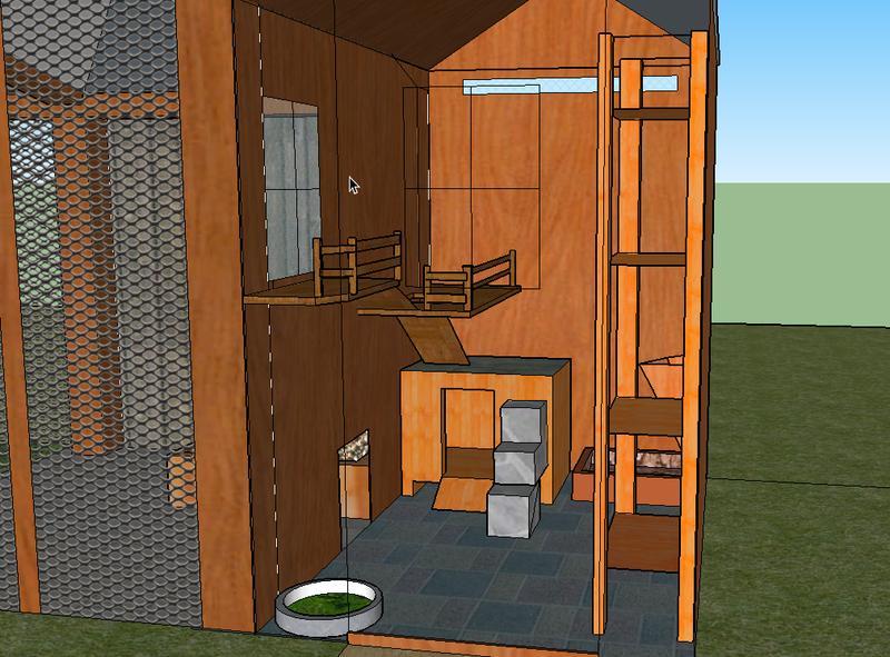 erste entw rfe f rs gehege kaninchen. Black Bedroom Furniture Sets. Home Design Ideas