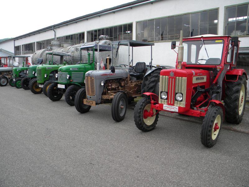 Historische Traktoren bei Saisoneröffnung der ÖGEG in Ampflwang 18230291cd