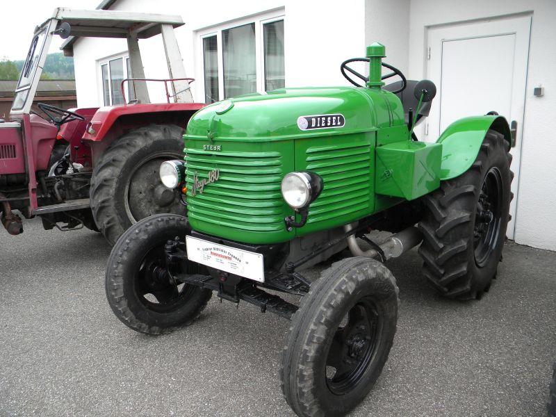 Historische Traktoren bei Saisoneröffnung der ÖGEG in Ampflwang 18230366lc
