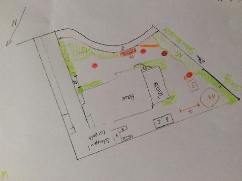 Modernes haus und naturgarten staudenbeet page 2 mein for Modernes haus gezeichnet