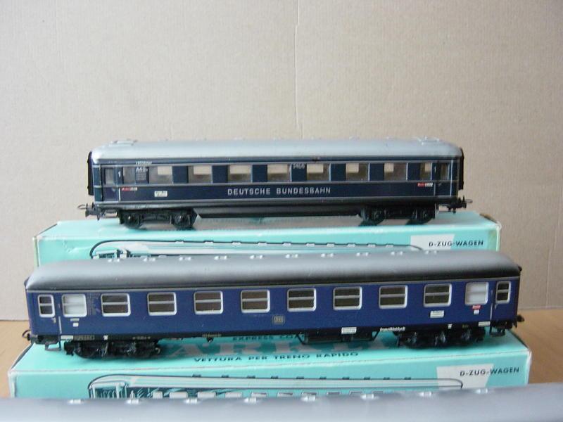 D-Zug-Wagen von 1950-2000 (MÄRKLIN) 18319497vc