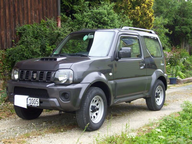 vom nissan x trail zum jimny ranger. Black Bedroom Furniture Sets. Home Design Ideas