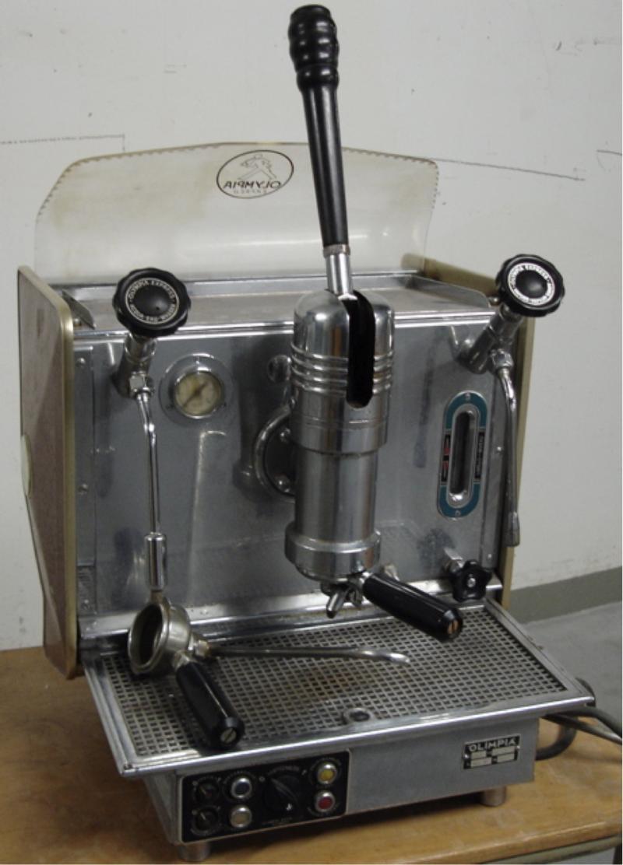 Olimpia Olympia Gastro Handhebelmaschine  KaffeeNetz
