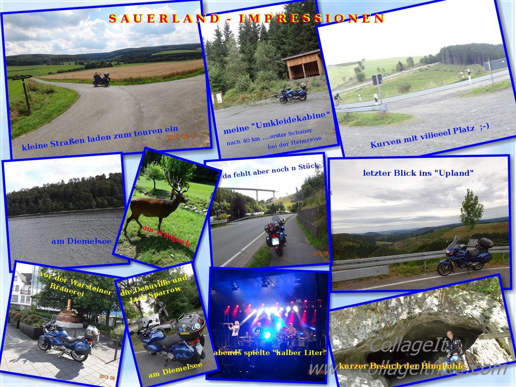 Eindruecke von der Tour zum Olsberg Festival