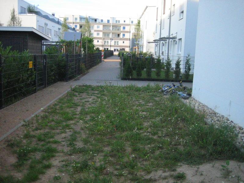 Neubaugarten reihenendhaus insgesamt ca 150 qm fl che for Gartengestaltung 150 qm