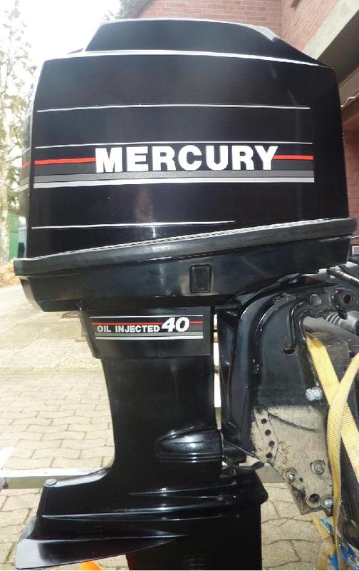 verkauft au enborder mercury 40 ps 2 takt verkauft. Black Bedroom Furniture Sets. Home Design Ideas