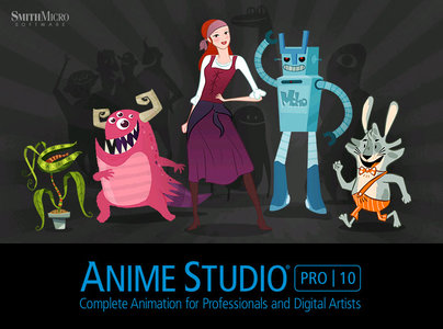 SmithMicro Anime Studio Pro 10.1 Mac