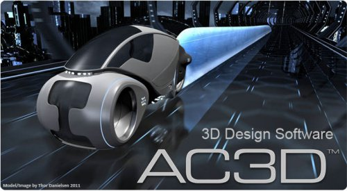 Inivis Limited AC3D v7.2.17 Win/Mac/Linux