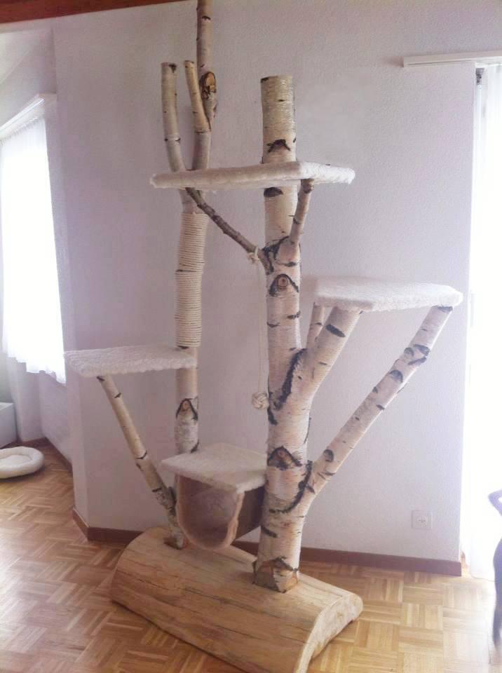 kratzbaum auch f r schwere katzen deckenhoch h henverstellbar f r deckenh he 245 254cm. Black Bedroom Furniture Sets. Home Design Ideas