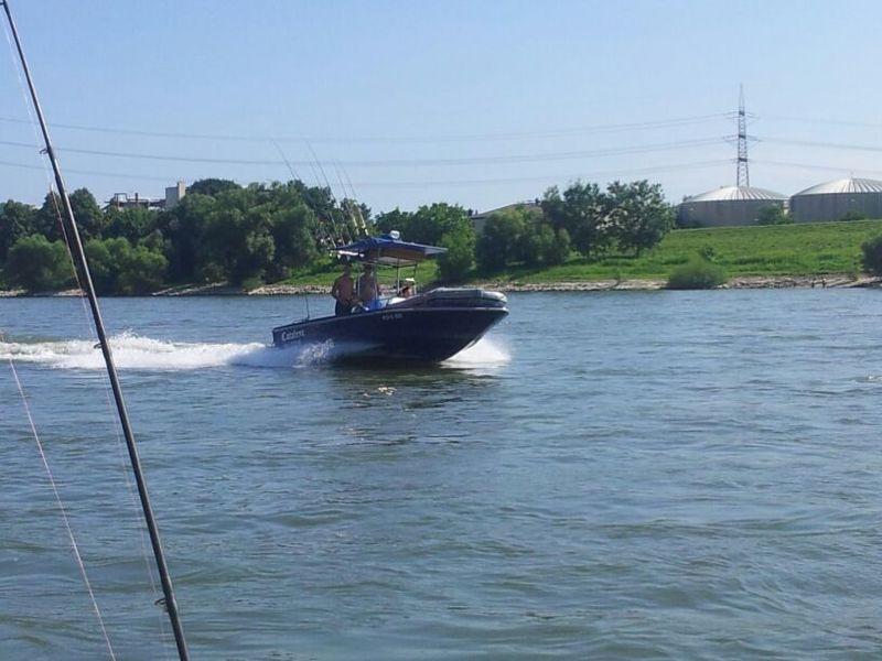 Wallerboot Angelboot Trollingboot Glastron 6 3m X 2 5m