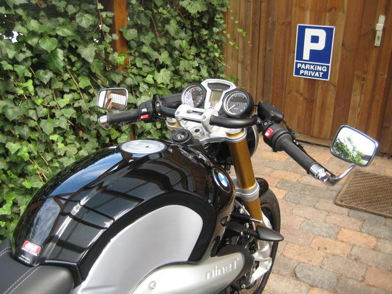 Spiegel bmw ninet umbauten customizing bmw r ninet for Spiegel unten motorrad