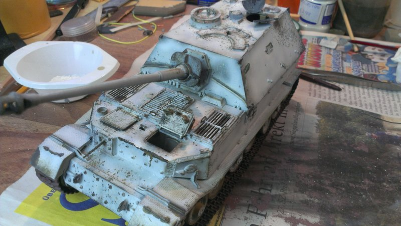 Jagdpanzer Elefant aus der Restekiste 19364722al