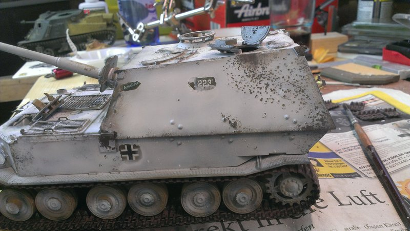 Jagdpanzer Elefant aus der Restekiste 19364727sk
