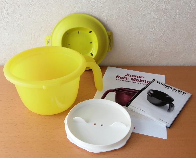 tupperware junior reis meister reiskocher f r die. Black Bedroom Furniture Sets. Home Design Ideas